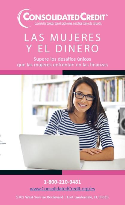 Este folleto ofrece una guía para ayudar a las mujeres a enfrentar los desafíos financieros de frente y tener éxito.