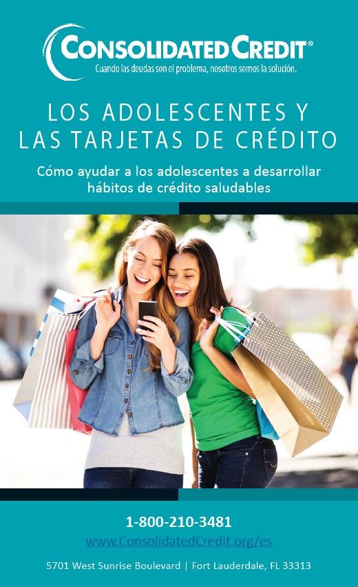 Obtener crédito es parte del camino hacia la independencia financiera,, aprenda cómo introducir a los adolescentes a las tarjetas de crédito.