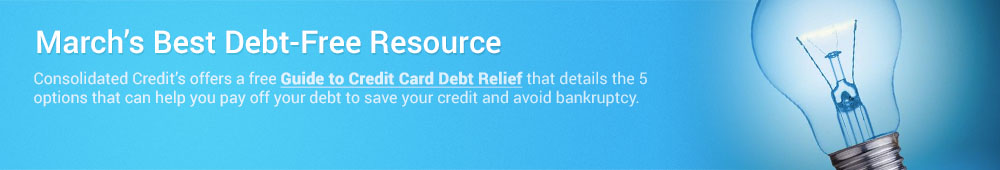 This free credit card debt relief resource helps eliminate your debt