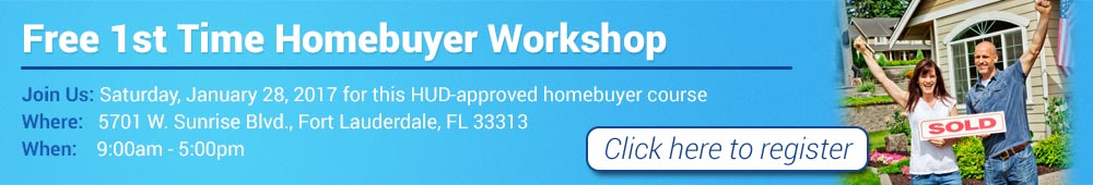 Sign up for a free HUD-approved homebuyer workshop