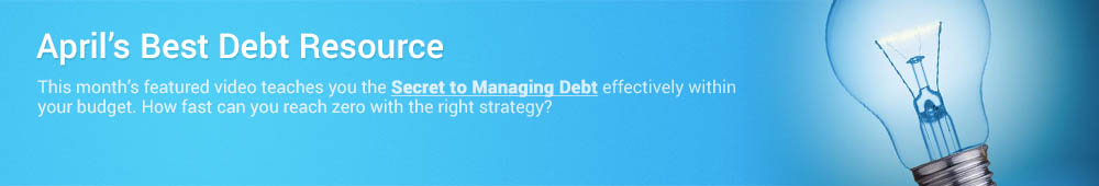 Use this month's debt relief resource to find the right debt solution