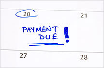 Set the right bill payment schedule for debt