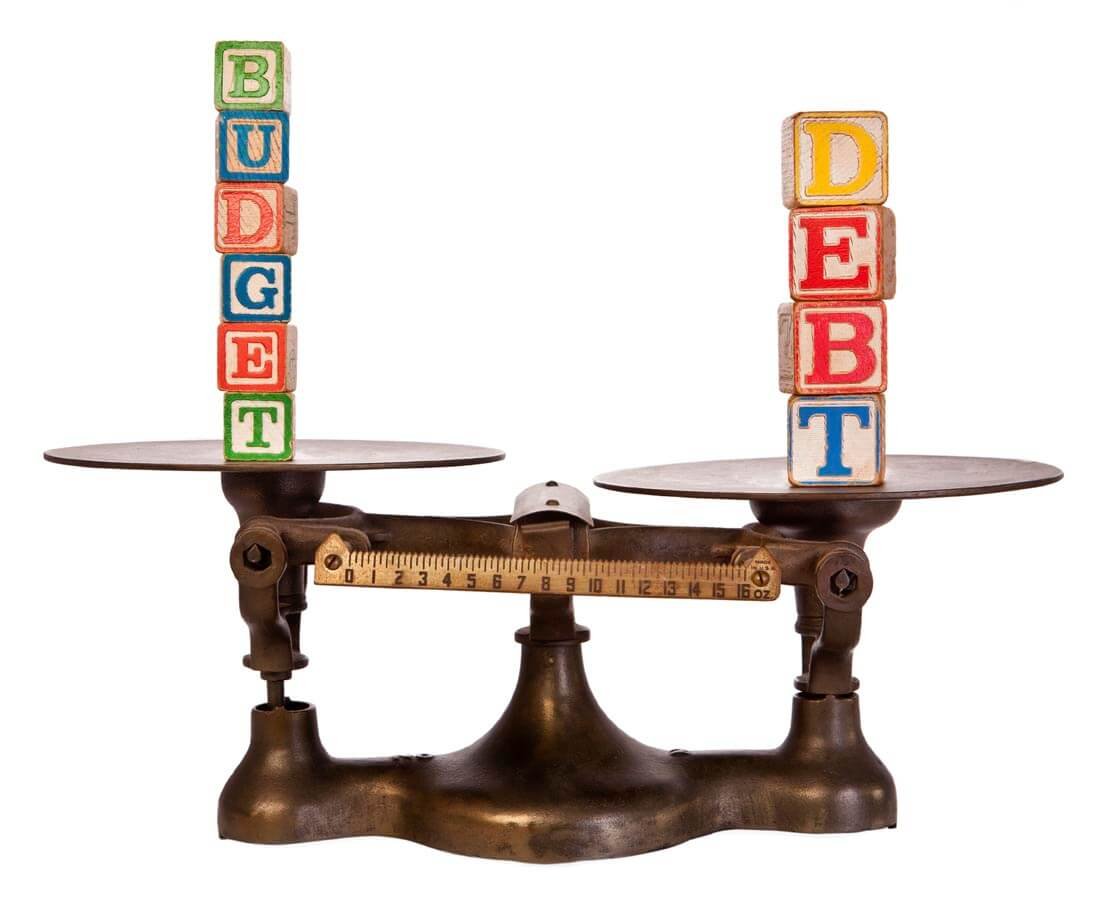 Finding the right balance for debt in your budget