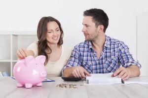 Plan savings into your budget