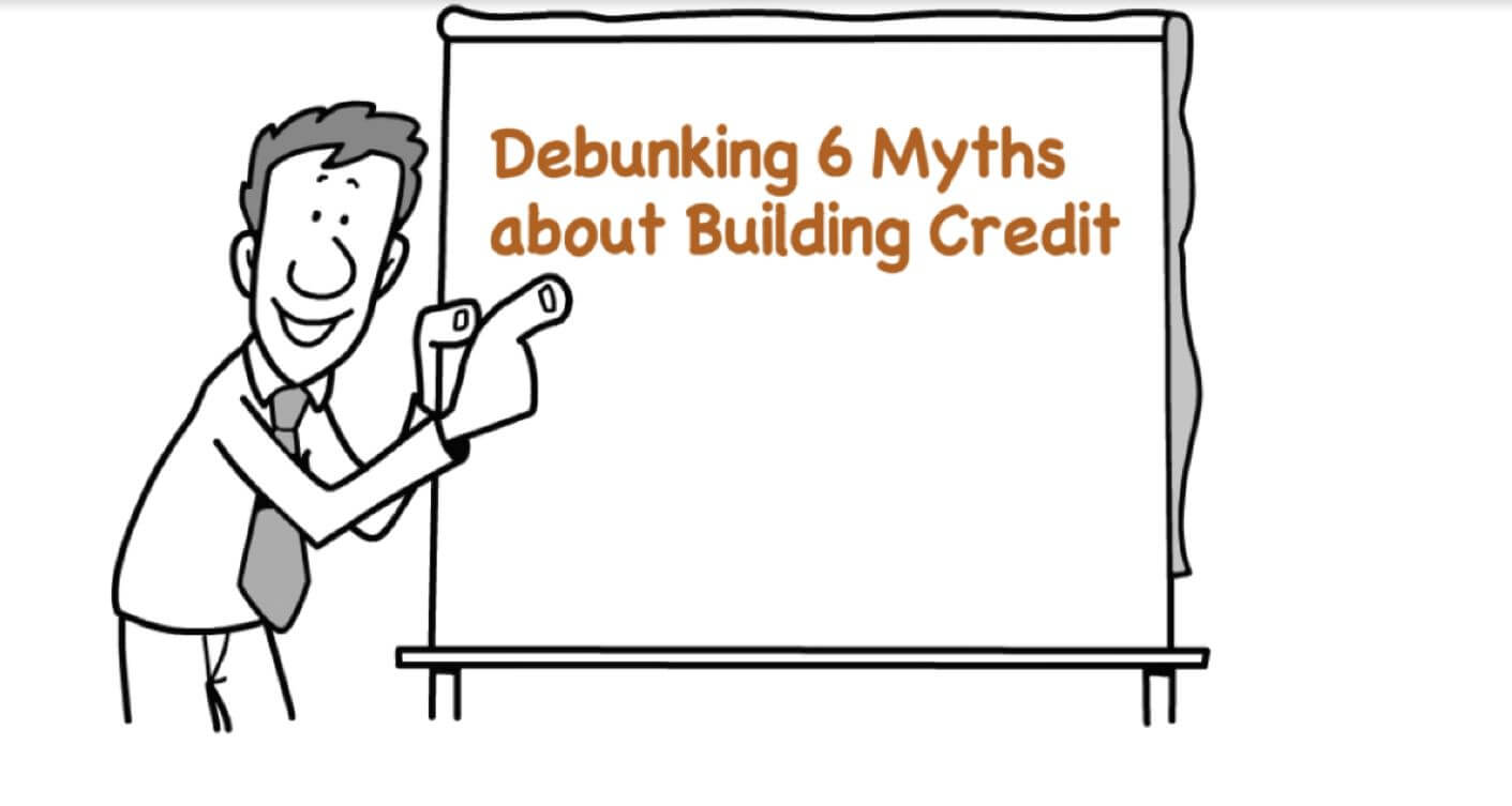6 Common Myths about Building Credit