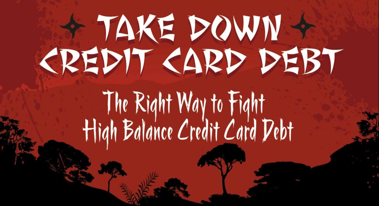 Take Down Credit Card Debt