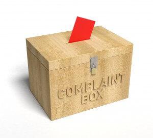 File your complaints