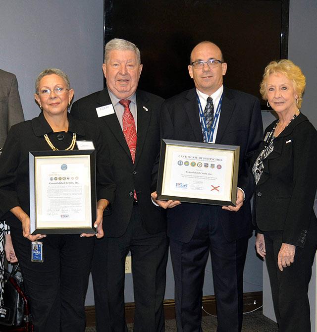 Department of Defense award presentation