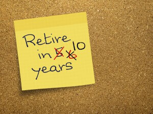 Will you be forced to delay your retirement?