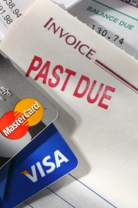 Credit card delinquency rates are down