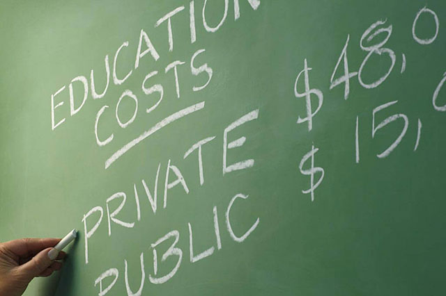 High education costs can lead to default