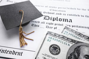 The cost of your education also affects your credit