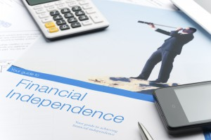 Making a plan for financial independence