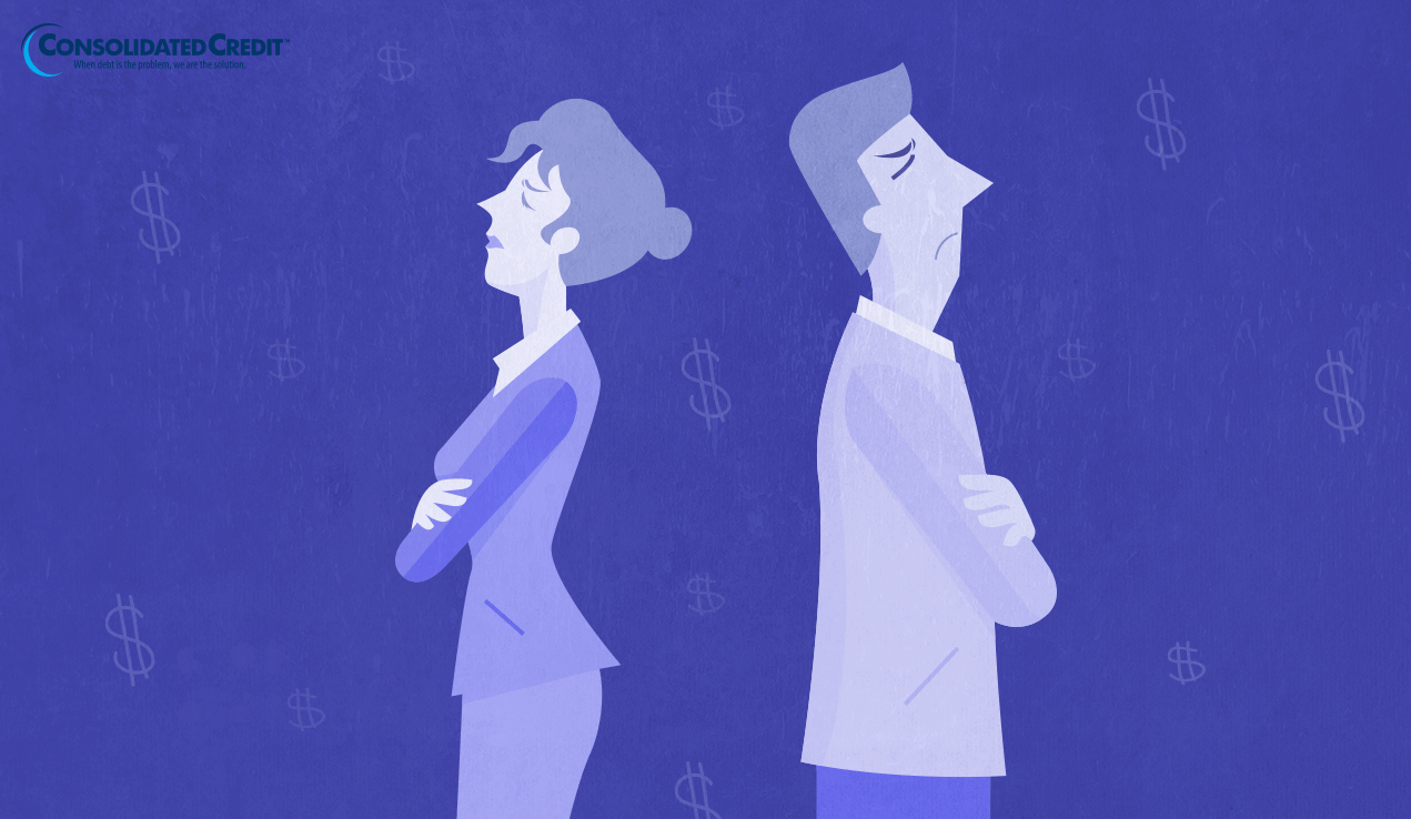 Overcome financial infidelity