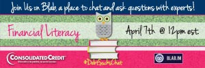 Don't miss your chance to blab about financial literacy