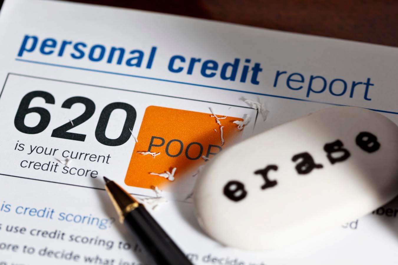 Rebuild your credit for a better credit score