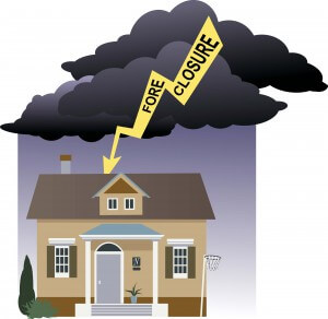 The threat of foreclosure looms overhead