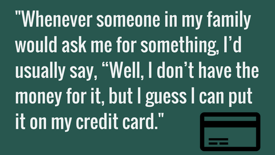 Wanda used credit cards to help family