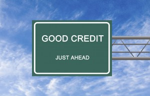 A good credit score is just ahead
