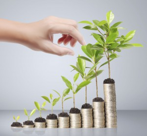 Investments help your money grow