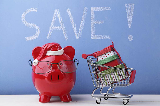 Holiday shopping that saves