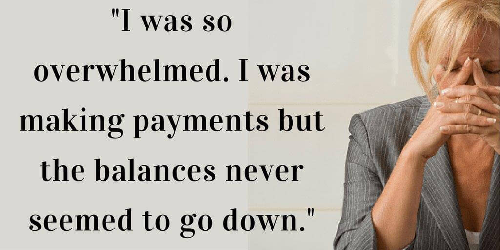 Linda's credit dependence led to a cycle of debt