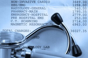 High medical bills cause problems with collections