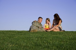 Military families in a stable financial landscape