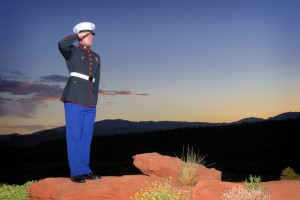Service members look to the future