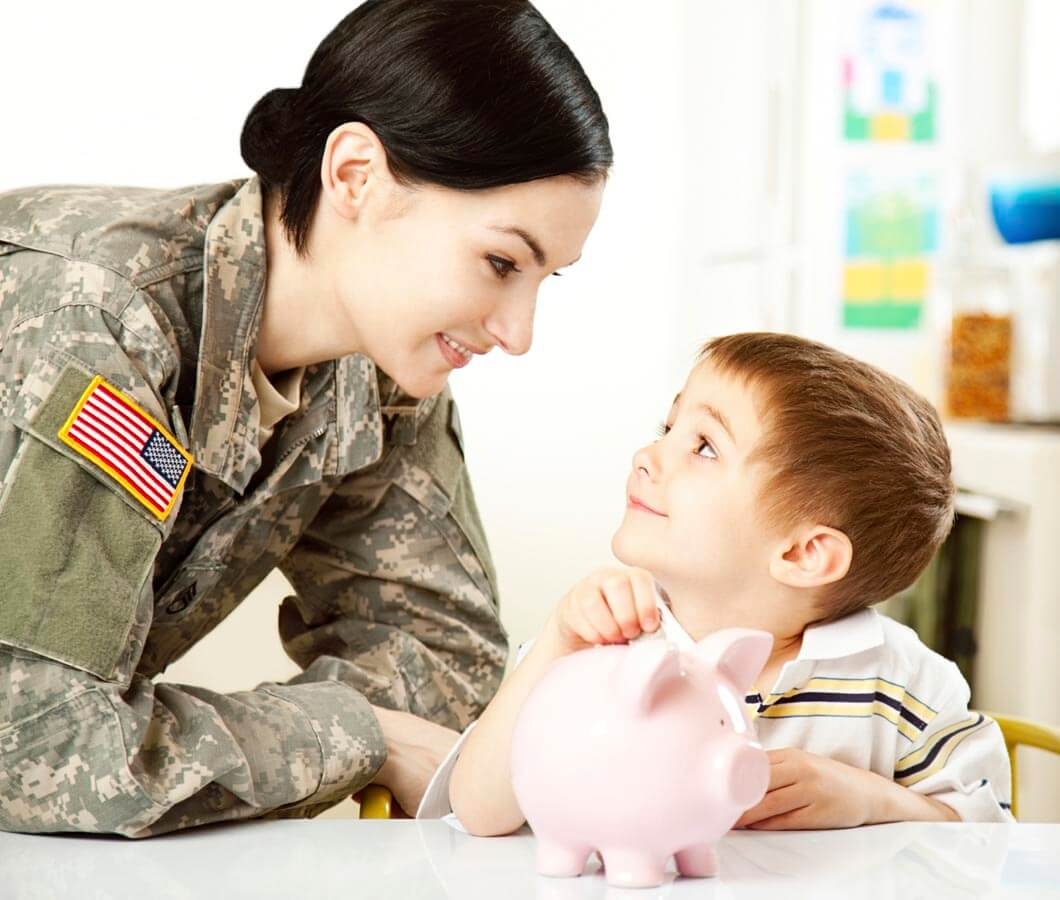 Military families are saving more, but is it enough?