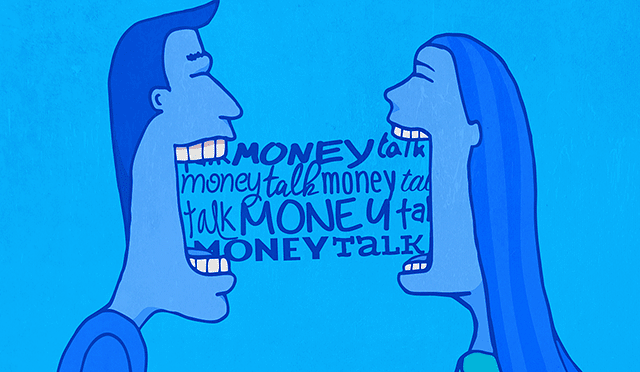 It's important to talk to your partner about money