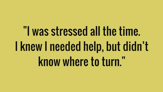 Paula recalls the constant debt stress