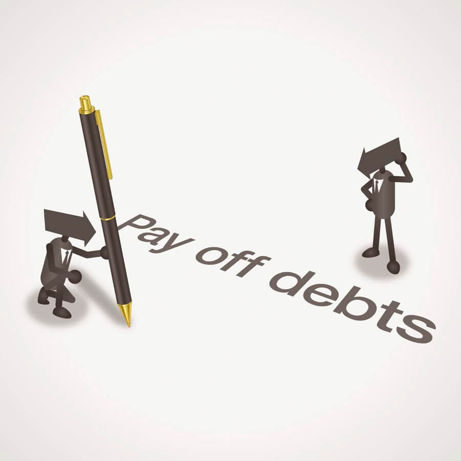 Who do you owe to pay off your debts