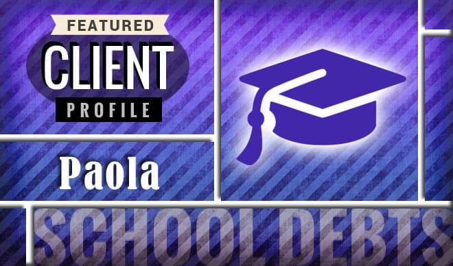 Paola eliminates grad school credit card debt