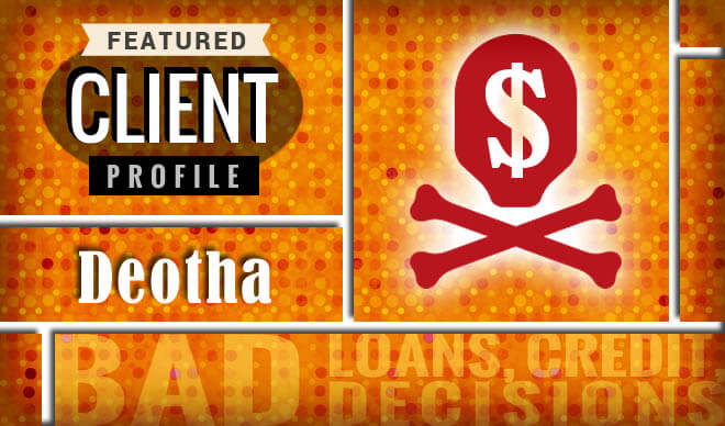 Deotha overcome being reluctant about credit counseling