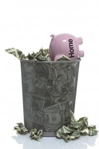 Throwing Money Away on High Rent Payments
