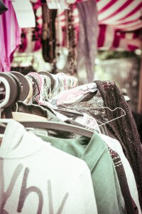 Second hand clothing is good for your budget