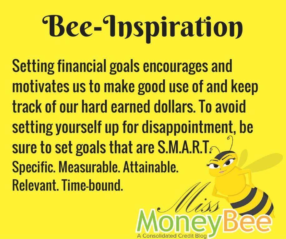 Always make sure to set SMART goals