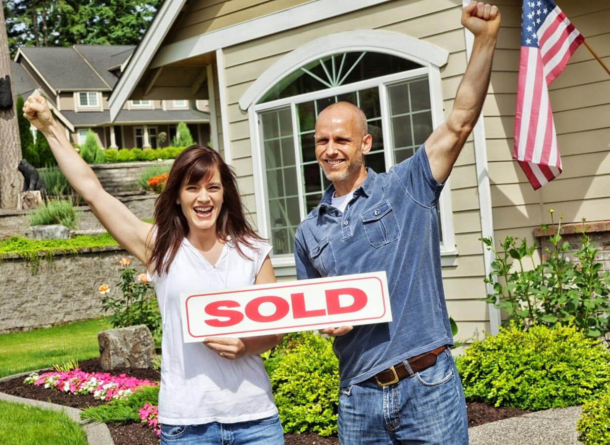 Successful home sales