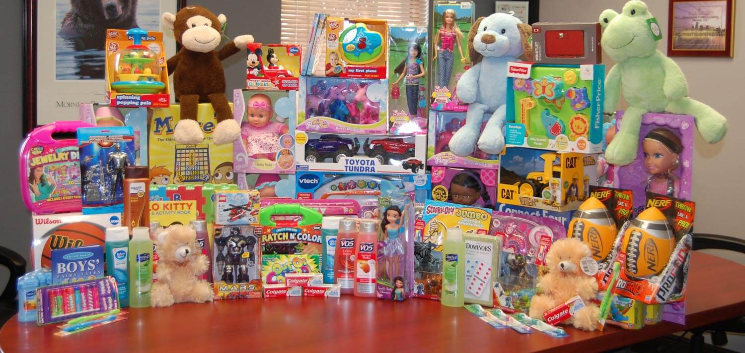 2014 annual toy drive for Henderson Bahavoiral Health