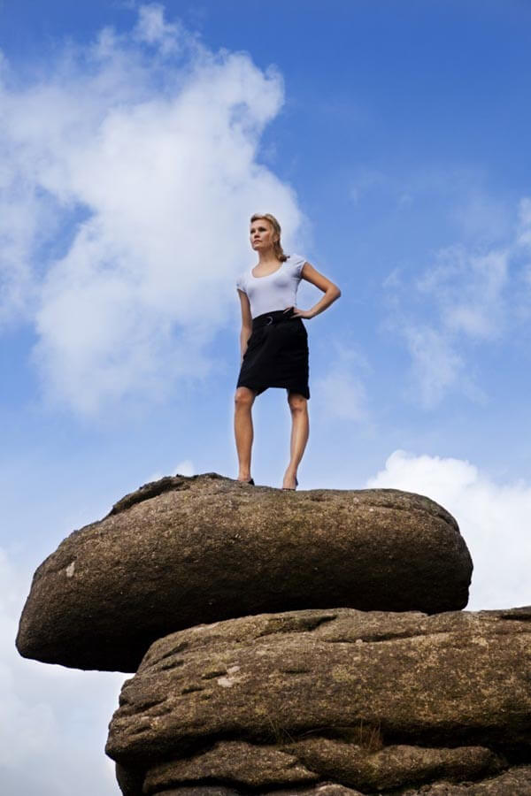Women are reaching the top with hard work