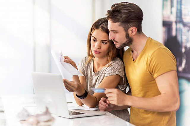 Reviewing statements together avoids financial infidelity