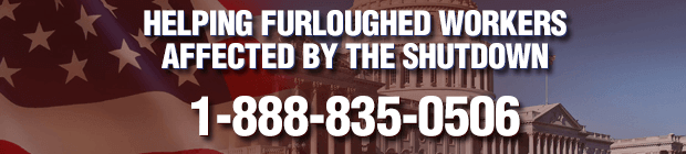 Helping furloughed workers affected by the shutdown