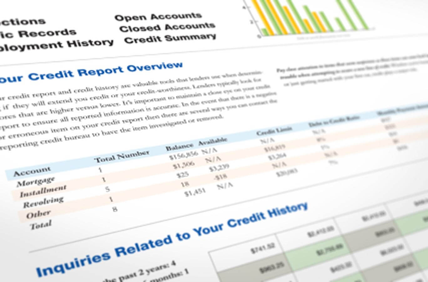 It's important to know what's in your credit report