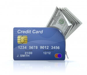 Taking cash out on credit with a cash advance
