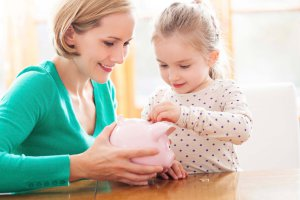 Giving kids allowance can teach them to save effectively