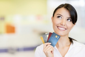 The right array of credit cards