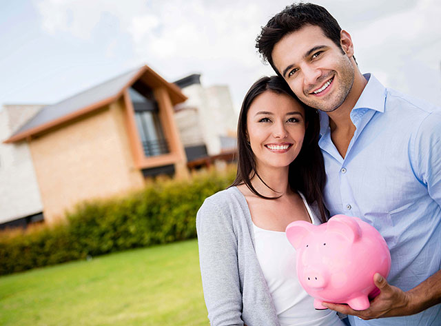 Renters must save up for a down payment to buy a home