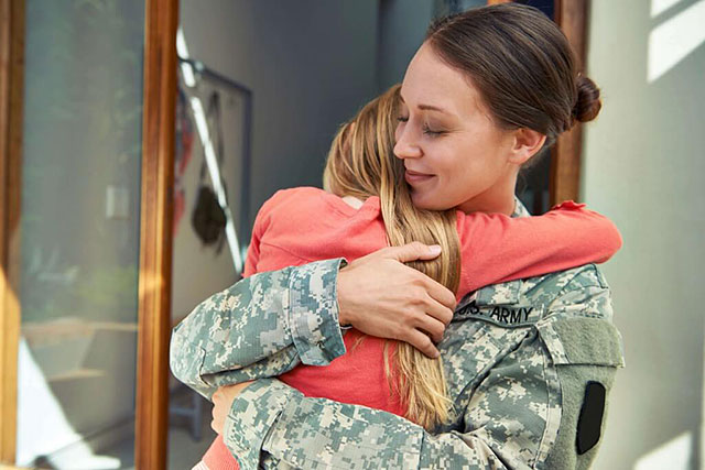 Military families focus on near term finances