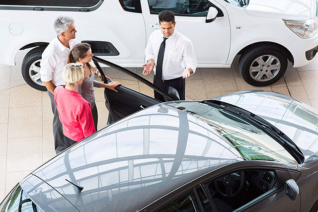 Advise the bank for car loans